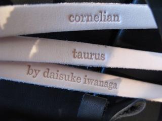 New Brand「cornelian taurus by daisuke iwanaga」