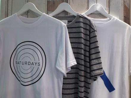 """Saturdays Surf NY"" 夏のTシャツ特集!"