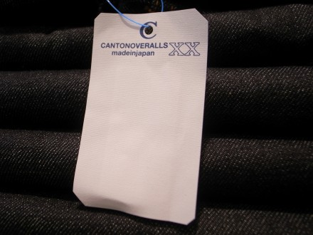 """CANTON OVERALLS"" 入荷!!"