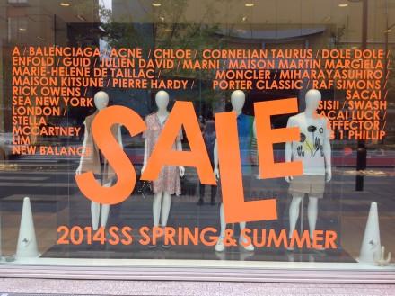 """2014 SPRING&SUMMER SALE"" START!!"