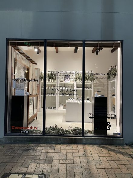 SASTAINABLE & WITH COVID-19 POP-UP STORE